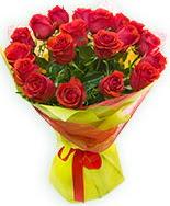 19 Adet kırmızı gül buketi  İsparta çiçek siparişi vermek