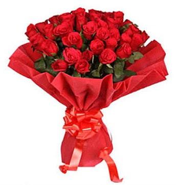 41 adet gülden görsel buket  İsparta çiçek satışı
