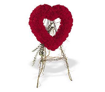 İsparta internetten çiçek satışı  karanfillerden kalp pano