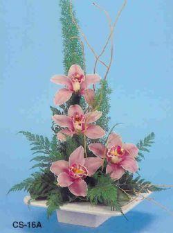 İsparta çiçekçi telefonları  vazoda 4 adet orkide