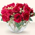 İsparta çiçek online çiçek siparişi  mika yada cam içerisinde 10 gül - sevenler için ideal seçim -