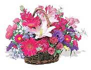 küçük karisik özel sepet   İsparta çiçek online çiçek siparişi