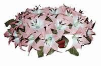 yapay karisik çiçek sepeti   İsparta çiçekçi mağazası