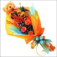 ayicik gül ve kir çiçekleri   İsparta çiçekçi mağazası