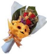güller ve gerbera çiçekleri   İsparta çiçek gönderme sitemiz güvenlidir