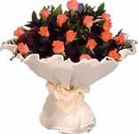 11 adet gonca gül buket   İsparta çiçek gönderme sitemiz güvenlidir