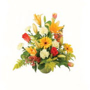 karisik renkli çiçekler tanzim   İsparta çiçek gönderme sitemiz güvenlidir