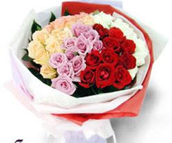 SEVENLERE ÖZEL 51 ADET GÜL  İsparta internetten çiçek satışı