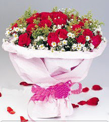 İsparta internetten çiçek satışı  12 ADET KIRMIZI GÜL BUKETI