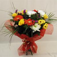 İsparta hediye çiçek yolla  Karisik mevsim demeti