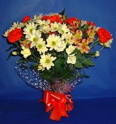 İsparta hediye çiçek yolla  kir çiçekleri buketi mevsim demeti halinde