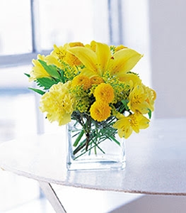 İsparta ucuz çiçek gönder  sarinin sihri cam içinde görsel sade çiçekler