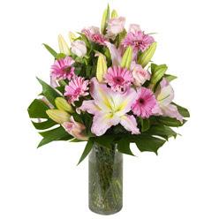 vazo içerisinde karisik mevsim çiçekleri  İsparta internetten çiçek siparişi