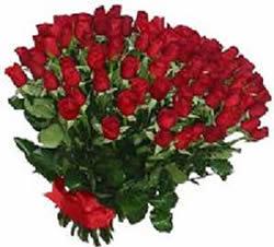 51 adet kirmizi gül buketi  İsparta çiçekçiler