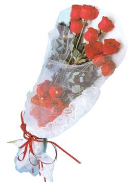 11 adet kirmizi güller buket tanzimi   İsparta çiçek siparişi sitesi