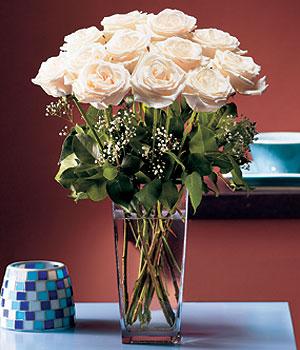 İsparta hediye sevgilime hediye çiçek  Cam yada mika vazo içerisinde 12 gül