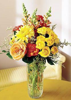 İsparta 14 şubat sevgililer günü çiçek  mika yada cam içerisinde karisik mevsim çiçekleri