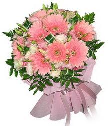 İsparta cicekciler , cicek siparisi  Karisik mevsim çiçeklerinden demet