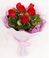 9 adet kaliteli görsel kirmizi gül  İsparta çiçek gönderme