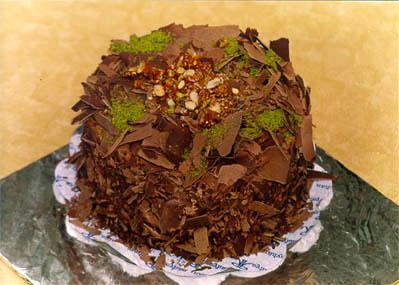 Çikolatali 4 ila 6 kisilik yas pasta  İsparta çiçek gönderme sitemiz güvenlidir