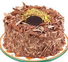 çikolatali 4 ile 6 kisilik yas pasta  İsparta çiçek servisi , çiçekçi adresleri