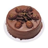 Kestaneli çikolatali yas pasta  İsparta çiçek , çiçekçi , çiçekçilik