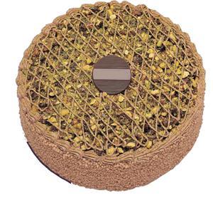 Krokanli 4 ile 6 kisilik yas pasta leziz  İsparta çiçek gönderme