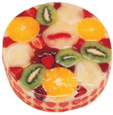 Meyvali 4 ile 6 kisilik yas pasta leziz  İsparta hediye çiçek yolla