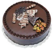 Çikolatali yas pasta 4 ile 6 kisilik  leziz  İsparta çiçek mağazası , çiçekçi adresleri