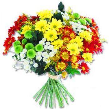 Kir çiçeklerinden buket modeli  İsparta online çiçek gönderme sipariş