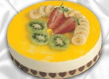 pasta gönderme 4 ile 6 kisilik yas pasta muzlu yaspasta  İsparta çiçek mağazası , çiçekçi adresleri