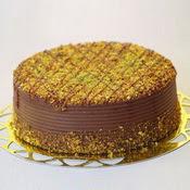sanatsal pastaci 4 ile 6 kisilik krokan çikolatali yas pasta  İsparta cicek , cicekci