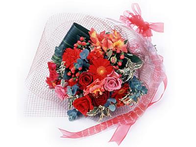 Karisik buket çiçek modeli sevilenlere  İsparta uluslararası çiçek gönderme