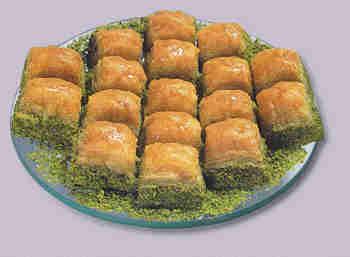 pasta tatli satisi essiz lezzette 1 kilo fistikli baklava  İsparta internetten çiçek siparişi