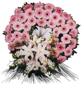 Cenaze çelengi cenaze çiçekleri  İsparta çiçek siparişi vermek