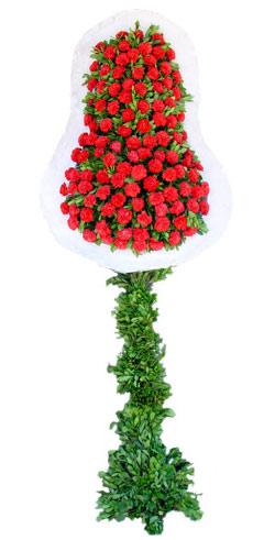 Dügün nikah açilis çiçekleri sepet modeli  İsparta İnternetten çiçek siparişi