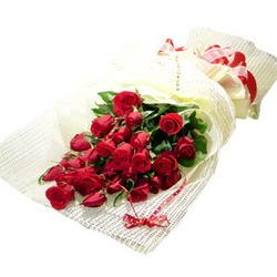 Çiçek gönderme 13 adet kirmizi gül buketi  İsparta çiçek satışı