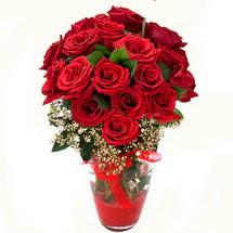 İsparta çiçek siparişi sitesi   9 adet kirmizi gül