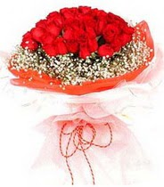 İsparta hediye sevgilime hediye çiçek  21 adet askin kirmizi gül buketi