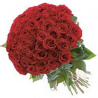 İsparta güvenli kaliteli hızlı çiçek  101 adet kırmızı gül buketi modeli