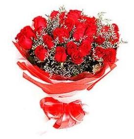 İsparta çiçek mağazası , çiçekçi adresleri  12 adet kırmızı güllerden görsel buket