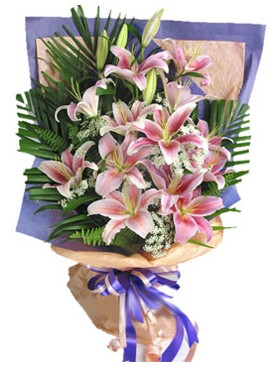 7 dal kazablankadan görsel buket  İsparta kaliteli taze ve ucuz çiçekler