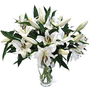 İsparta çiçekçi telefonları  3 dal görsel casablanca vazo tanzimi