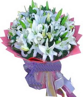 7 dal cazablanca görsel buketi  İsparta çiçekçi mağazası