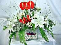 İsparta çiçek mağazası , çiçekçi adresleri  Anthurim Kazablanka  gül