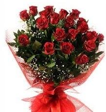 İlginç Hediye 21 Adet kırmızı gül  İsparta internetten çiçek siparişi