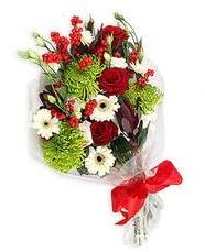 Kız arkadaşıma hediye mevsim demeti  İsparta online çiçek gönderme sipariş