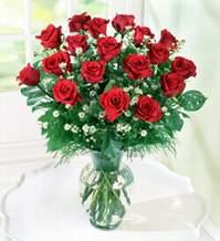 İsparta internetten çiçek satışı  9 adet mika yada vazoda kirmizi güller