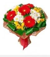1 demet karışık buket  İsparta hediye sevgilime hediye çiçek