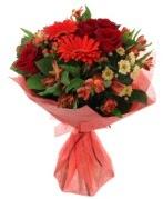 karışık mevsim buketi  İsparta internetten çiçek siparişi